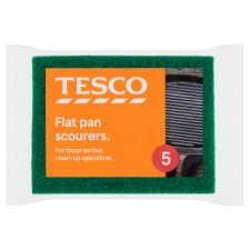 Tesco Pan Scourers 5 Pack