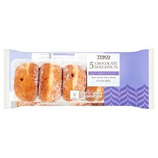 Tesco Chocolate Doughnuts 5 Pack
