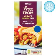 Tesco Free From Vegetable Cheese Pies 420G