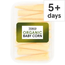 image 1 of Tesco Organic Baby Corn 125G