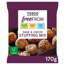 Tesco Free From Sage And Onion Stuffing 170G