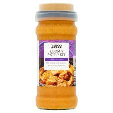 Tesco Korma 2 Step Kit 360G