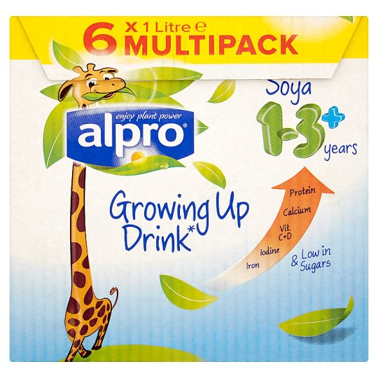 Alpro Soya Junior Multipack 6X1l