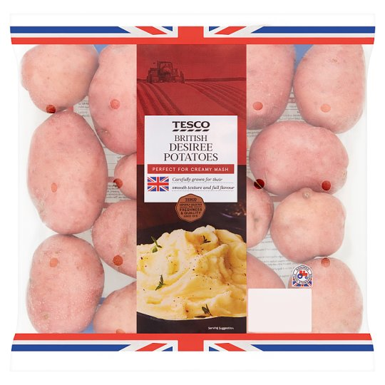 Tesco Desiree Potatoes 2.5Kg