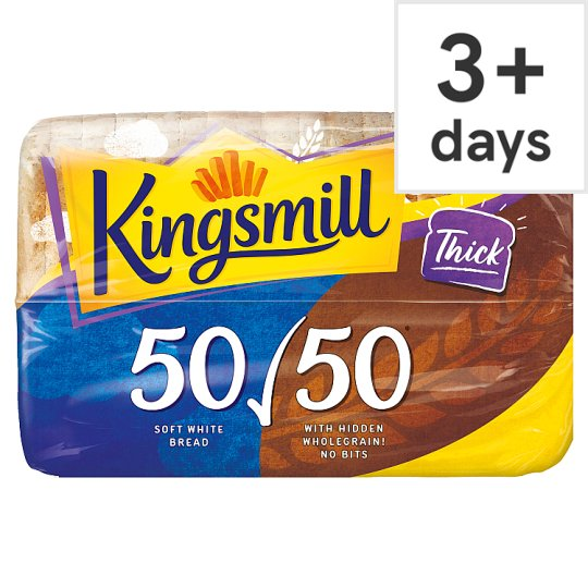 image 1 of Kingsmill 50/50 Thick Bread 800G