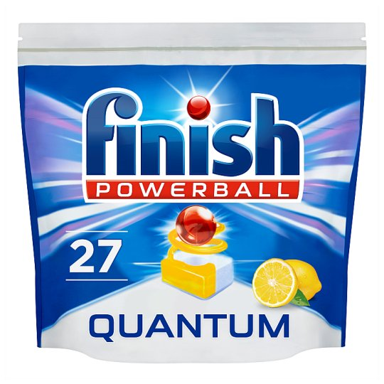 image 1 of Finish Quantum Max Lemon 27 Dishwasher Tablets