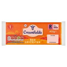 Creamfields Red Leicester Cheese 400G