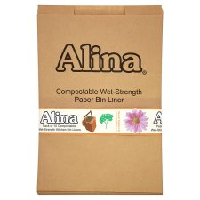 Alina Small Caddy Compostable Paper Liner 10 Pack