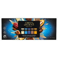 Green & Blacks Milk And White Mini Chocolate Bars 12 Pack 180G