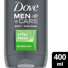 Dove Men+Care Extra Fresh Face And Body Wash 400Ml