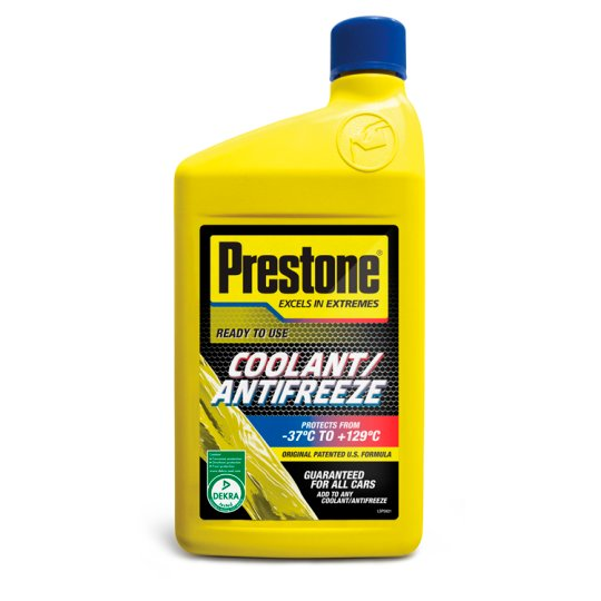 Prestone Antifreeze And Coolant 1 Litre