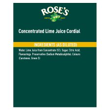 image 2 of Roses Lime Juice Cordial 1 Litre