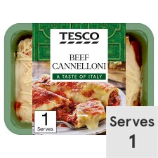 Tesco Beef Cannelloni 450G