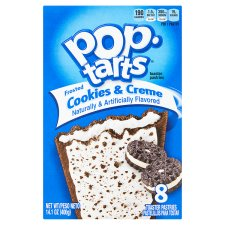 Kelloggs Pop Tarts Cookies And Creme 400G