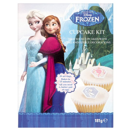 Valentines Cake Decorations Tesco : Disney Frozen Cupcake Kit 181G - Groceries - Tesco Groceries