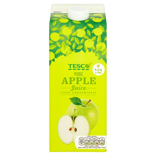 Tesco Pure Apple Juice 2 Litre