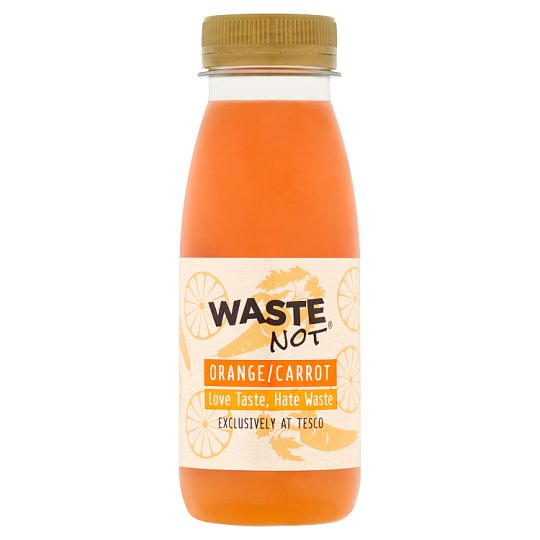 Waste Not Orange And Carrot Juice 250Ml