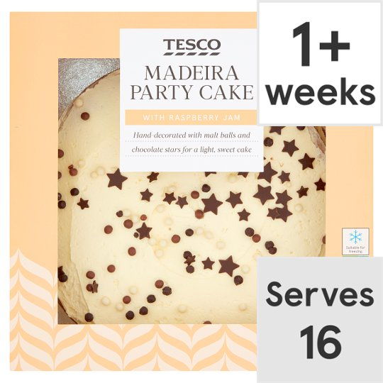 Tesco Madeira Party Cake