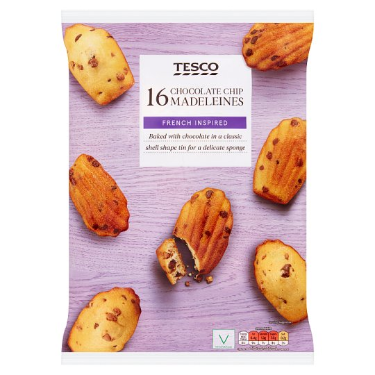 Tesco Chocolate Chip Madeleines 400G - Groceries - Tesco ...
