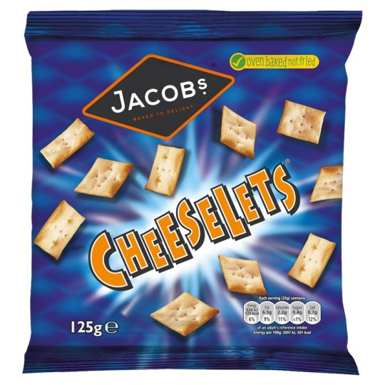 image 1 of Jacobs Cheeselets Snacks 125 G