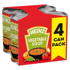 Heinz Vegetable Soup 4X400g