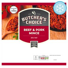 Butchers Choice Beef And Pork Mince 750G