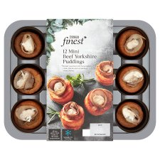 Tesco Finest 12 Beef Yorkshire Puddings 155G