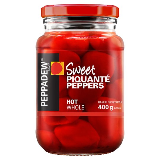 Peppadew Hot Peppers 400G