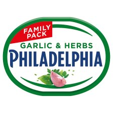 Philadelphia Garlic And Herb 340G