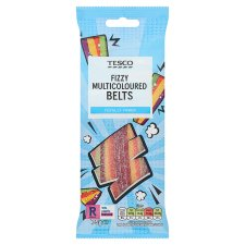 Tesco Fizzy Multicolour Sweet Belt 75G
