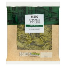 Tesco Linguine Spinach Nests 300G