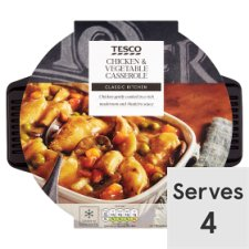 Tesco Chicken And Vegetable Casserole 1Kg