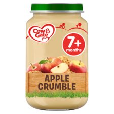 Cow And Gate Apple Crumble Jar 200G 7 Mth+