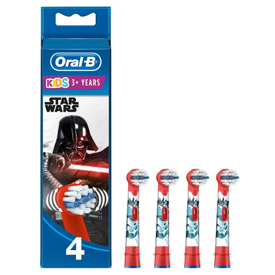 image 1 of Oral-B Stages Star Wars Electric Toothbrush Heads 4