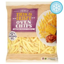 Tesco Thin And Crispy Oven Chips 1.5Kg
