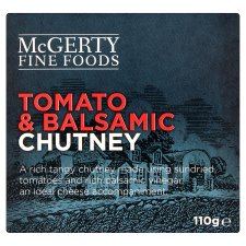Mcgerty Fine Foods Tomato And Balsamic Chutney 110G