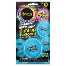 Illoom Happy Birthday Blue 5 Pack