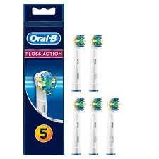 Oral-B Floss Action Toothbrush Heads 5 Pack