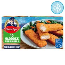 Birds Eye 10 Fish Fingers Haddock 280G
