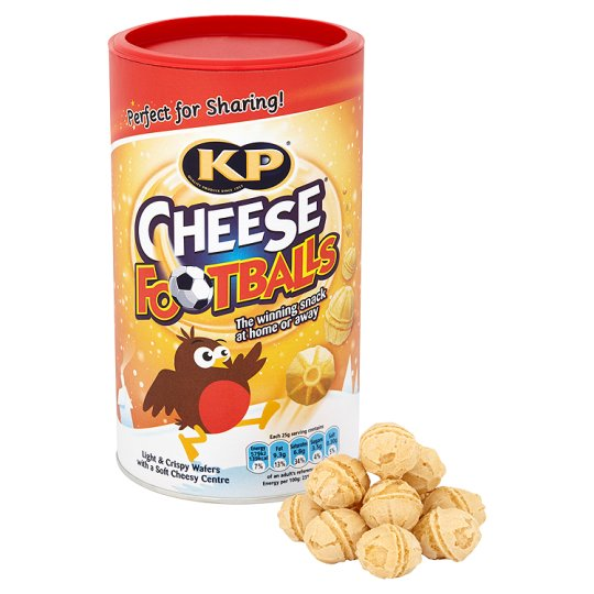 Kp Cheese Footballs Snack Caddy 150G