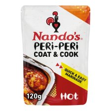 Nando's Coat & Cook Hot 120G
