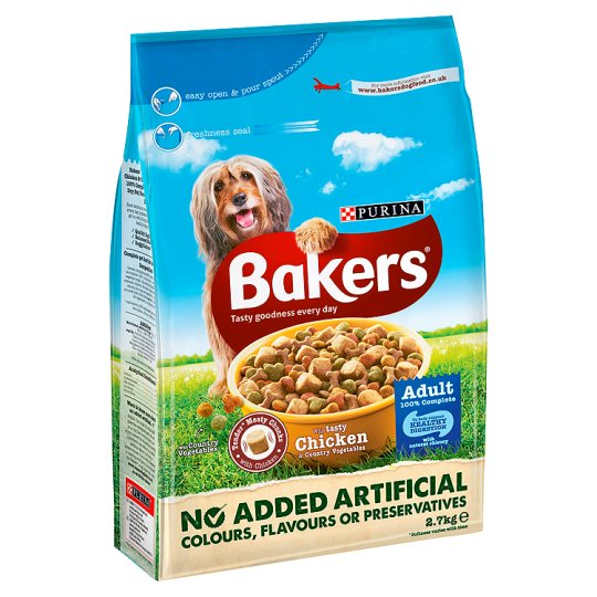 Bakers Complete Dog Food Chicken And Vegetable 2.7Kg