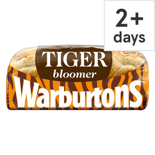 Warburtons Sliced Tiger Bread 600G