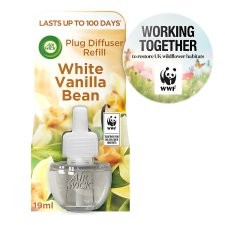 Airwick Air Freshener Plug In Refill White Vanilla Bean 17 Ml
