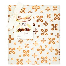 Thorntons Classic Milk White Dark Chocolates Gift Box 248G