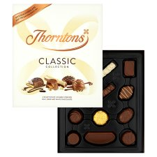 image 2 of Thorntons Classic Milk White Dark Chocolates Gift Box 248G