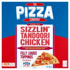 The Pizza Company Sizzlin Tandoori Chicken Pizza 852G