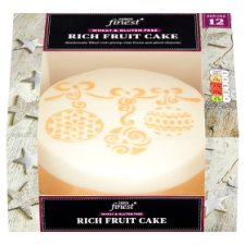 Tesco Finest Free From Rich Fruit Cake