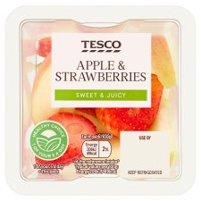 Tesco Apple And Strawberry 100G