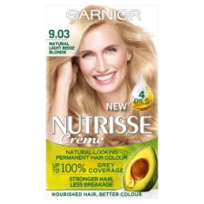 image 1 of Garnier Nutrisse 9.03 Light Beige Blonde Permanent Hair Dye